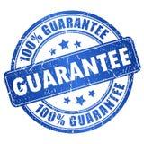Sello de la garantía Imagen de archivo libre de regalías