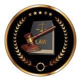 Sello de la ley ilustración del vector
