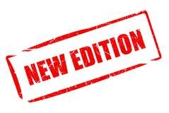 Sello de la nueva edición Fotografía de archivo libre de regalías