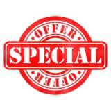 Sello de la oferta especial Fotos de archivo libres de regalías
