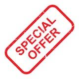 Sello de la oferta especial stock de ilustración