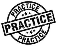 sello de la práctica