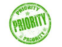 Sello de la prioridad Fotos de archivo