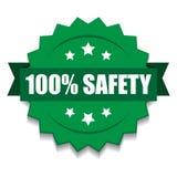 sello 100% de la seguridad libre illustration