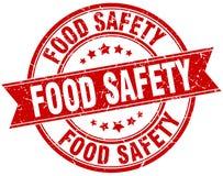 Sello de la seguridad alimentaria stock de ilustración