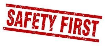 Sello de la seguridad primero libre illustration