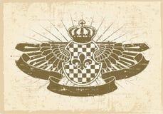 Sello de la vendimia Imagen de archivo libre de regalías
