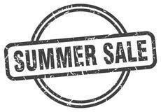 Sello de la venta del verano stock de ilustración