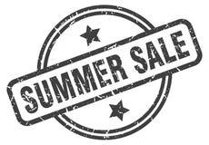 Sello de la venta del verano ilustración del vector