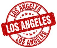 Sello de Los Ángeles ilustración del vector