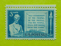Sello de los E.E.U.U. del vintage fotos de archivo libres de regalías