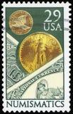 Sello de los E.E.U.U. Imagen de archivo libre de regalías