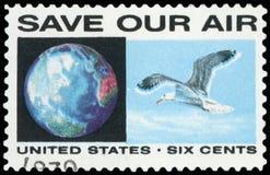 Sello de los E.E.U.U. Foto de archivo