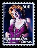 Sello de Marilyn Monroe fotografía de archivo