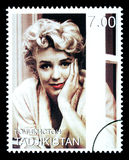 Sello de Marilyn Monroe imagen de archivo