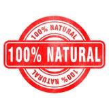 Sello de natural Foto de archivo libre de regalías