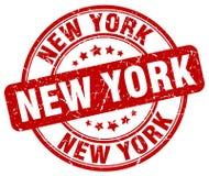 Sello de Nueva York stock de ilustración