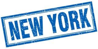 Sello de Nueva York ilustración del vector