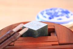 Sello de piedra chino fotografía de archivo
