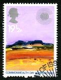 Sello de Reino Unido del día de la Commonwealth 1983 Imagenes de archivo