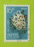 Sello de Rusia del vintage fotografía de archivo libre de regalías