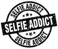 sello del adicto al selfie libre illustration
