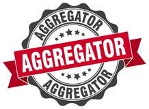 sello del aggregator sello Imagen de archivo libre de regalías
