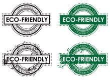 Sello del ambiente de Eco libre illustration