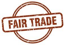 Sello del comercio justo libre illustration