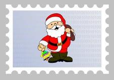 Sello del email de Navidad ilustración del vector