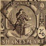 Sello del festival de Shakespeare Imágenes de archivo libres de regalías