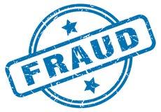 Sello del fraude ilustración del vector