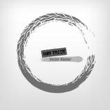 Sello del Grunge del neumático Foto de archivo libre de regalías