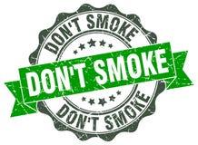 Sello del humo del ` t de Don Sello libre illustration