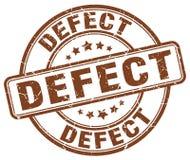 sello del marrón del defecto stock de ilustración
