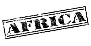 Sello del negro de África Imagen de archivo libre de regalías