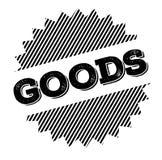 Sello del negro de las mercancías libre illustration