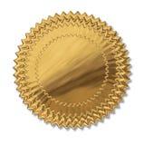 Sello del oro Imagen de archivo