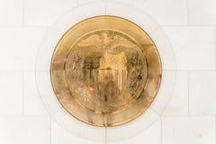sello del oro 10-J en Estados Unidos Federal Reserve Imágenes de archivo libres de regalías