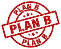 Sello del plan b ilustración del vector