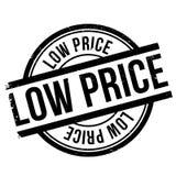 Sello del precio bajo ilustración del vector