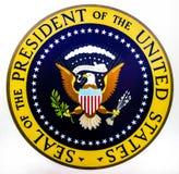 Sello del Presidente de los Estados Unidos Fotografía de archivo libre de regalías