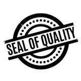 Sello del sello de goma de la calidad Fotografía de archivo libre de regalías
