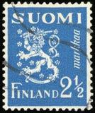 Sello - Finlandia Imágenes de archivo libres de regalías