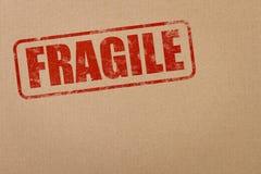 Sello frágil Fotos de archivo