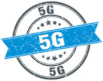 sello 5g libre illustration