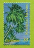 Sello inusitado de Marshall Islands imagen de archivo