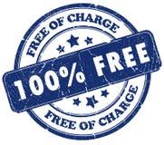sello libre del 100% ilustración del vector