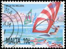 Sello - Malta Imagen de archivo libre de regalías
