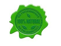 sello natural de la cera del 100% Fotos de archivo libres de regalías